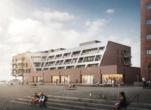 Modernes und barrierefreies 3-Zimmer-Appartment mit urbanem Ambiente an der Wismarer Hafenspitze