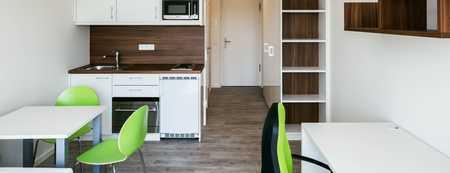 Studentenappartement, möbliert mit TG Stellplatz und Küche in Augsburg-Innenstadt