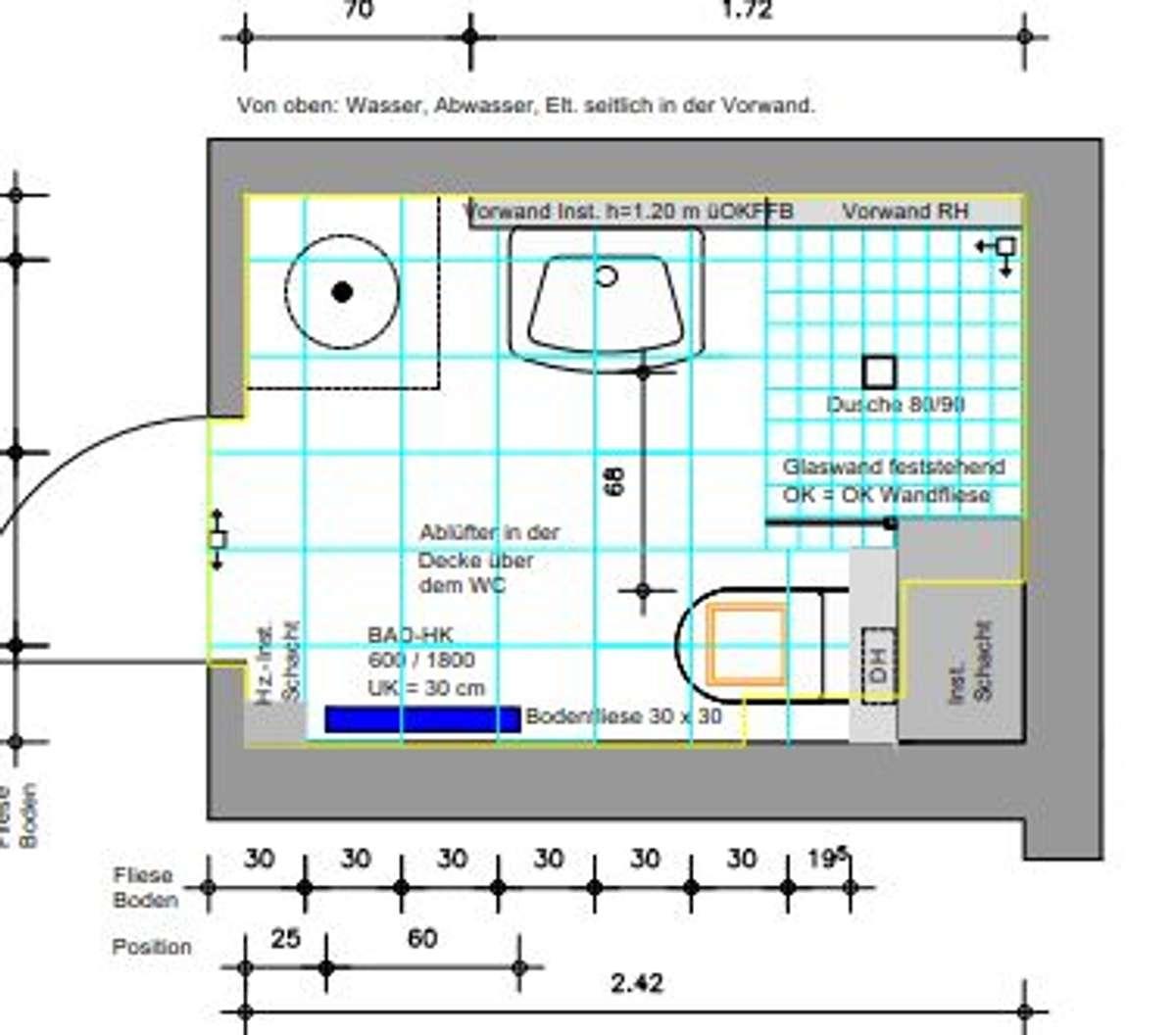 neue Badezimmer Jenaer Str. 2,