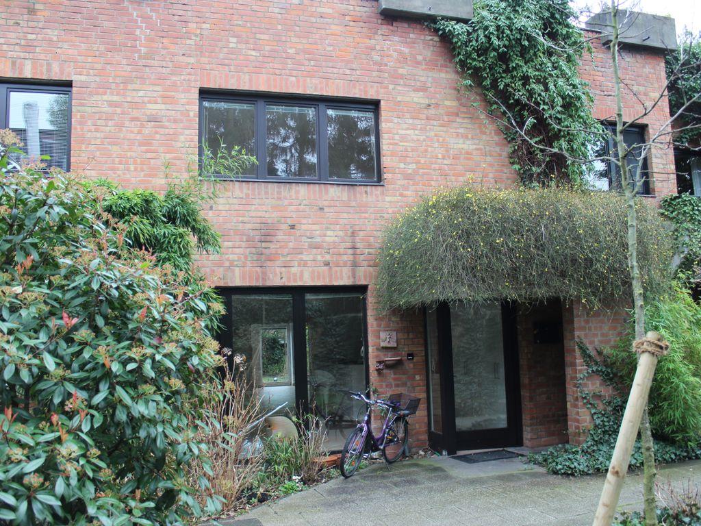 Haus-Eingangssicht