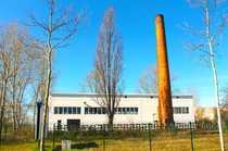 Produktionshalle im Gewerbegebiet Großzschocher
