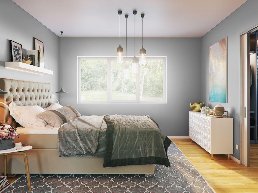 Beeindruckend Schlafzimmer Mit Ankleidezimmer Dekoration Von Beispiel
