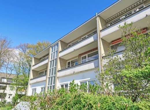 CLASSIC IMMOBILIEN: Ruhige 3-Zimmer-Wohnung mit Balkon in guter Lage zum Stadtzentrum