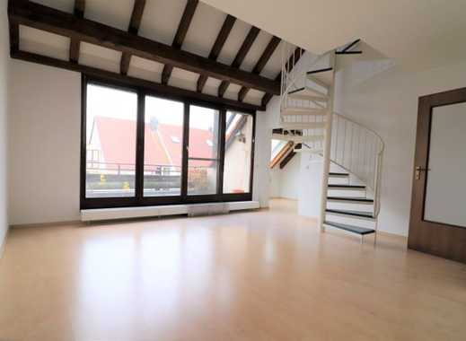 Schöne Maisonette-Wohnung mit Loggia und Wintergarten in ruhigem Wohnquartier