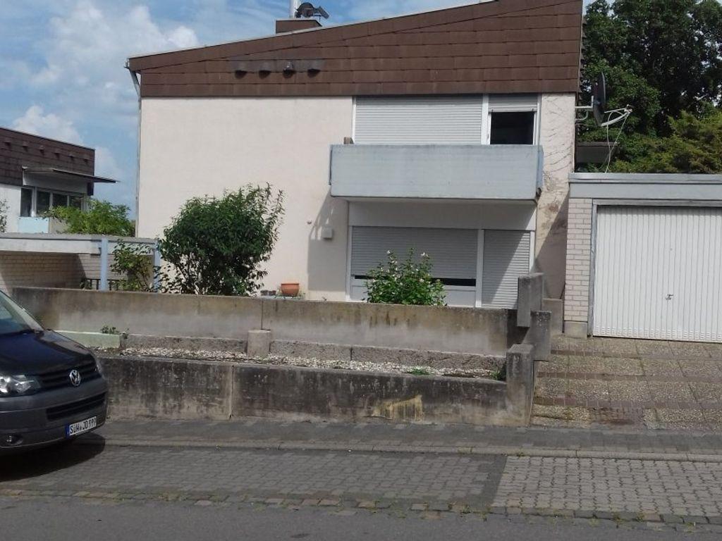 Gepflegte 2 Zimmer, Küche, Bad, Keller Wohnung mit Terrasse in Bad ...