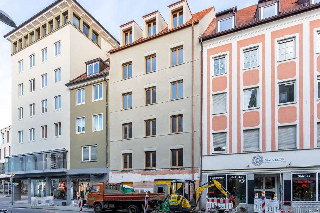 Erstbezug: 3-Zimmer-Neubauwohnung im Ingolstädter Zentrum mit Balkon in Mitte (Ingolstadt)