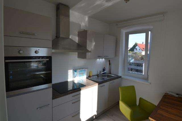 Helle und schöne möblierte 1 Zi Whg. in Neufahrn mit Küche & neuem Bad ! in