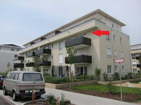 Helle 4-Zimmer-Wohnung mit Balkon im 2.OG in einem Neubau in Unterhaching nahe dem Landschaftspark in Unterhaching