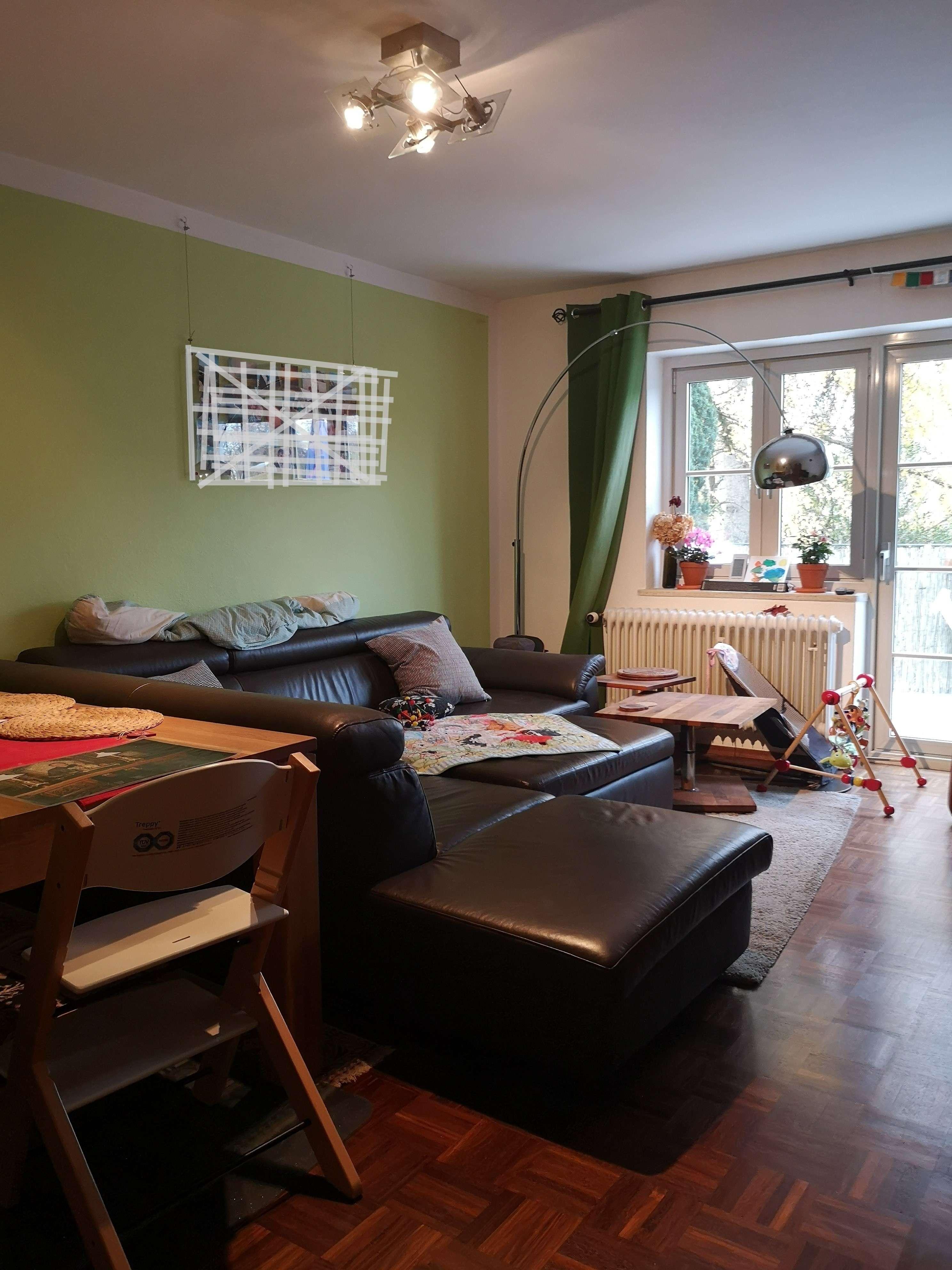Familienfreundliche  3- Zimmer Wohnung mit Gemeinschaftsgarten und Balkon im 3 Parteien in Milbertshofen (München)