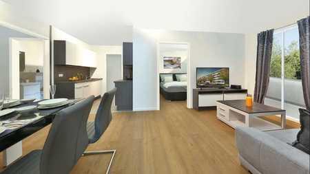 Möblierte neuwertige 2-Zimmer Wohnung in Markt Schwaben mit hervorragender Anbindung in Markt Schwaben