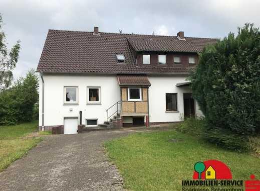 Bückeburg OT: Ein- und Dreifamilienhaus auf einem Grundstück