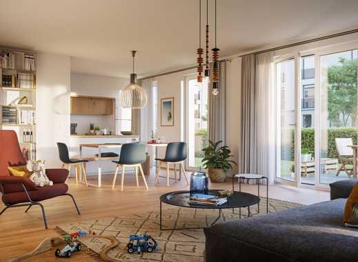 Helle 5-Zimmer-Familienwohnung mit Garten