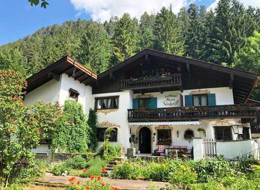 Bayrischzell Sonnenseite - Großes Landhaus mit Ferienwohnungen und Garten