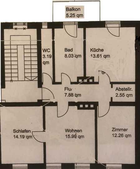 Stilvolle, sanierte 3-Zimmer-Wohnung mit Balkon und Einbauküche in Haidhausen, München in Haidhausen (München)