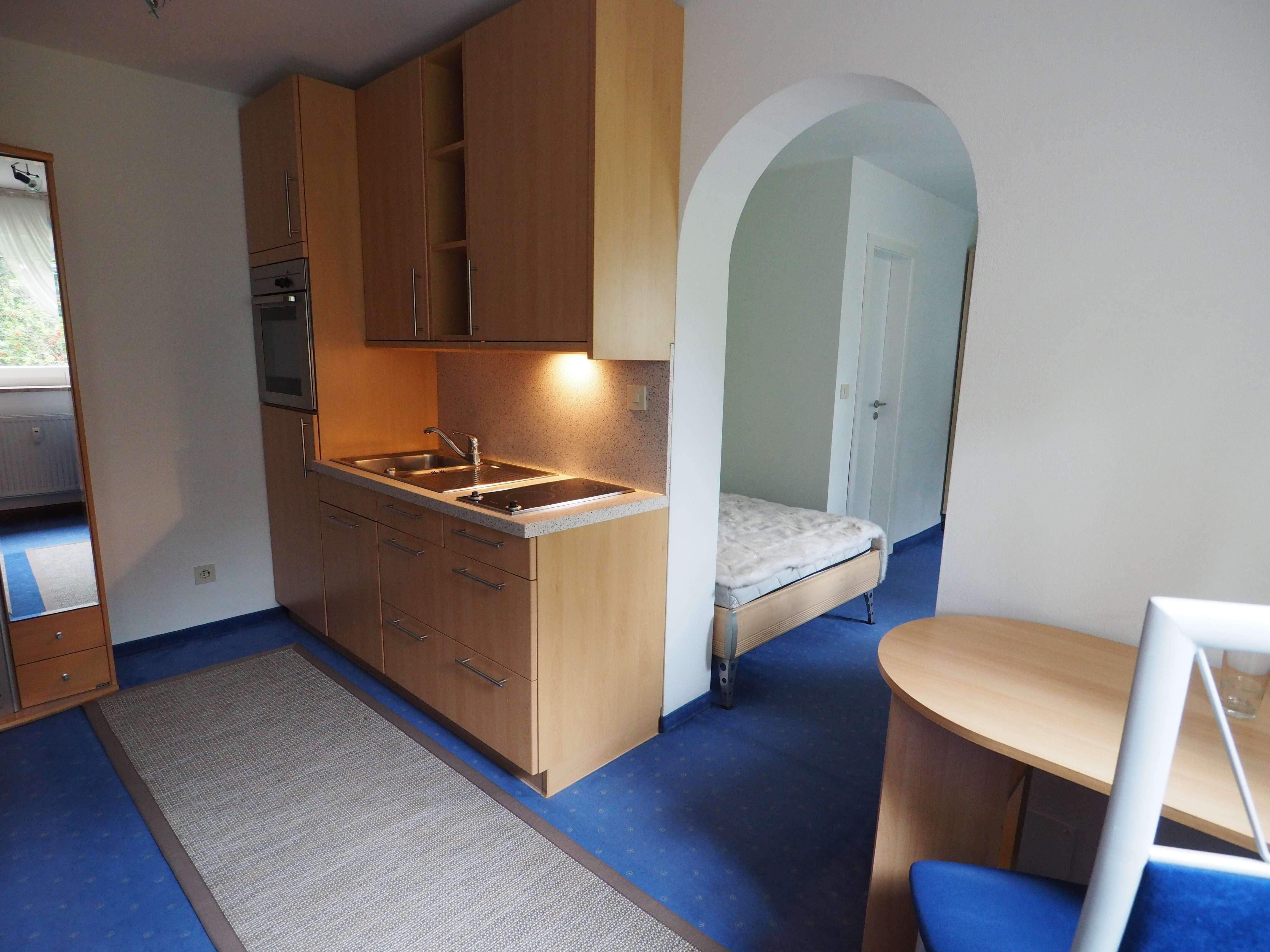 Möblierte 1,5-Zimmer-Wohnung mit EBK in Regensburg (Nähe Universität)