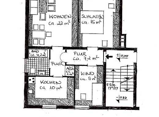 Schöne 3-Zi.-Wohnung mit Balkon und Gartenmitbenutzung in Baldham