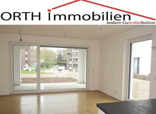 Erdgeschoss - 2 Zimmer Neubau mit EBK u. Gartenterrasse u. Zugang Garten