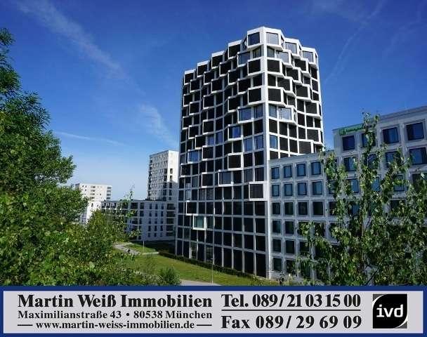 Lichtdurchflutetes Studio mit Designer-EBK und 360° Dachterrasse Nähe Hirschgarten