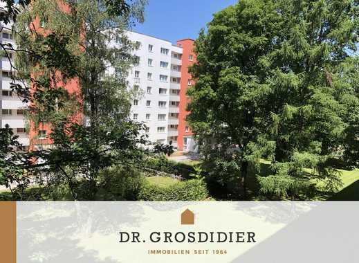 Dr. Grosdidier: Sonnige 3-Zi.-Whg. mit Blick ins Grüne! Leer! Vollständig renoviert!