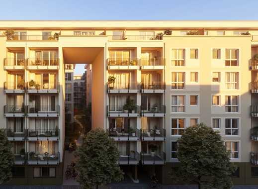 Charmantes Neubau City Apartment: 2-Zimmer, Balkon, Parkett, EBK