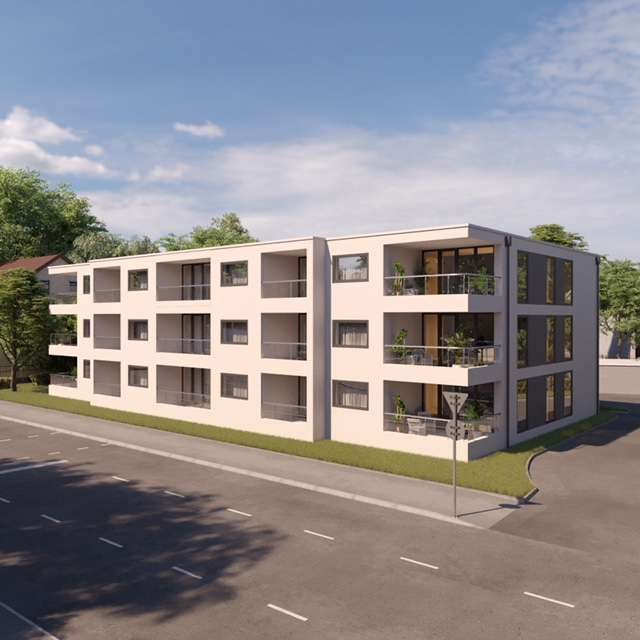 Luxus 4 Zimmer Neubauwohnung ab 01.01.20 in Kernstadt (Straubing)