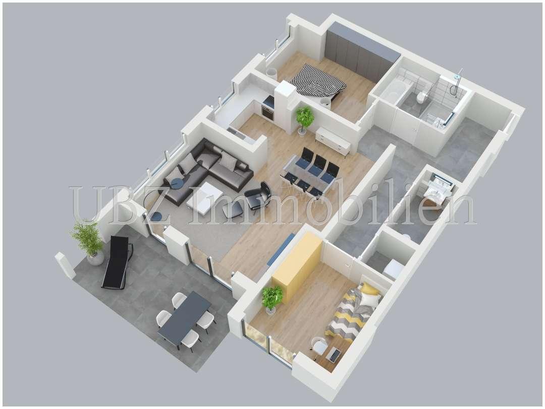 Modernes Wohnambiente - Wohnung Nr. 1