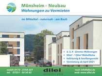 Mönsheim - Exklusive 2-4 Zimmer-Mietwohnungen Neubau