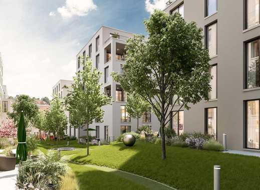 Durchdachter Wohngenuss! 4-Zi.-Wohnung mit ca. 55 m² Wohn-/Ess-/Kochbereich und sonniger Loggia