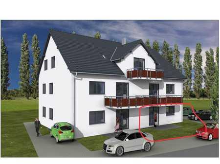 Erstbezug: freundliche 3,5-Zimmer-EG-Wohnung mit Terrasse und zusätzlichem Hobbyraum in Gundihausen in Vilsheim