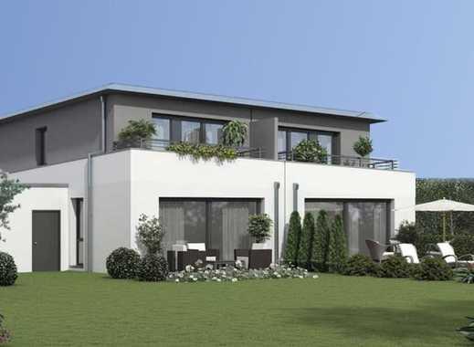 Exklusive Doppelhaushälfte in idyllischer Rheinlage