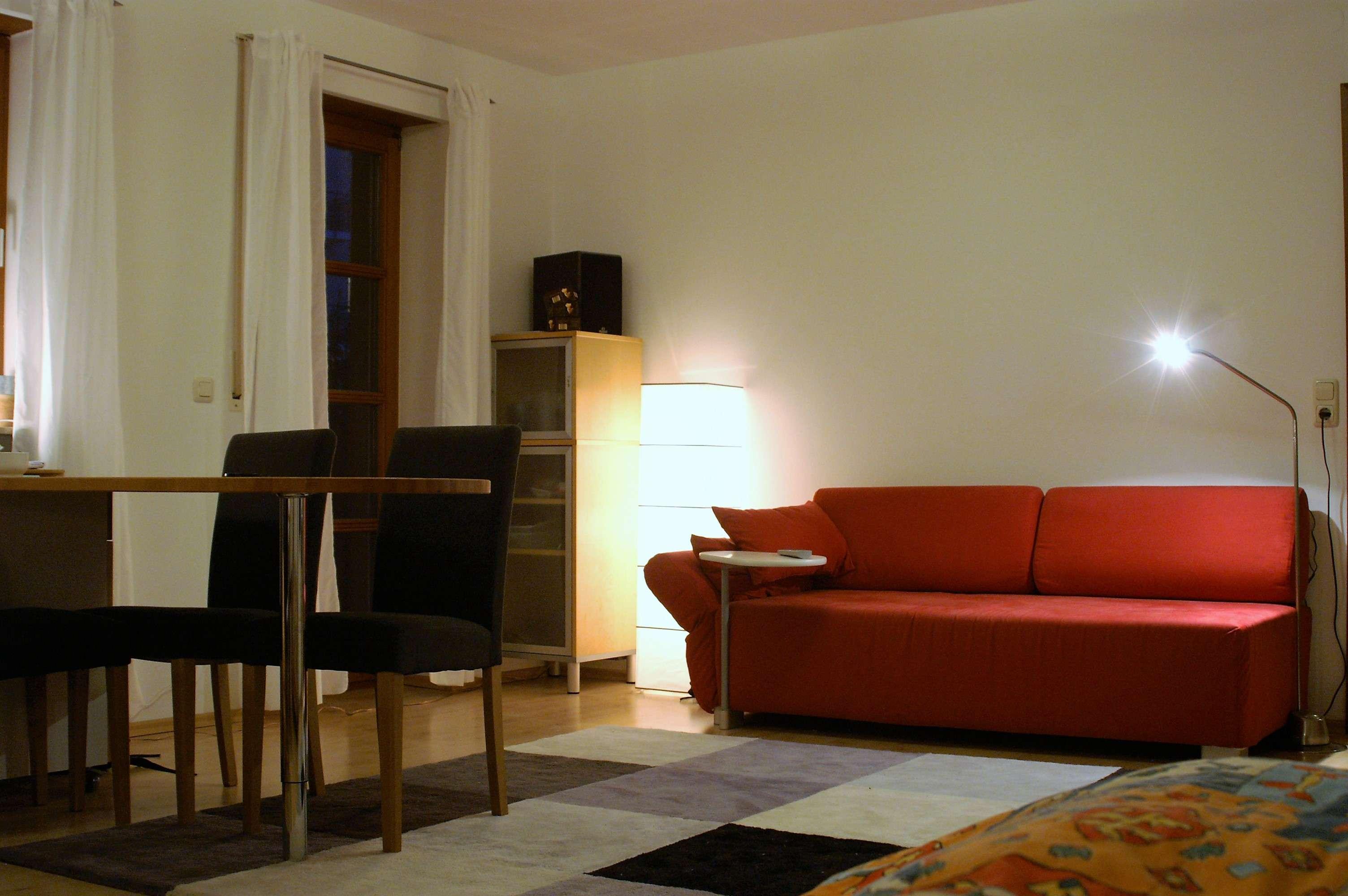 Ansprechende 1-Zimmer-Erdgeschosswohnung mit Balkon und EBK in Bayreuth