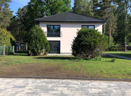 WE 2  Erstbezug, luxuriöse barrierefreie 2 Raum Wohnung im Erdgeschoss in Seenähe mit kleinem Garten