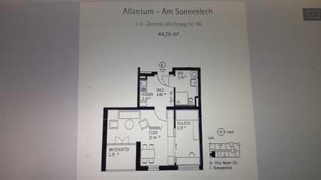 Seniorengerechte 1,5 Zi mit EBK und Wintergarten in Augsburg in Lechhausen (Augsburg)