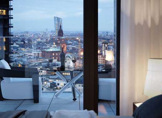 Beeindruckende 3-Zimmer-Wohnung mit großer Terrasse und Skylineblick in Top-Lage