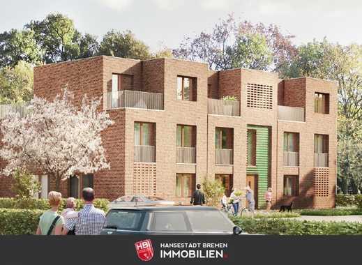 Worpswede / Kapitalanlage: Bötjerscher Hof - Großzügige Neubau-Eigentumswohnung mit Süd-Balkon