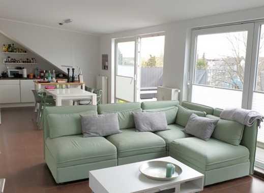 Moderne, Helle 3-Raumwohnung mit großer Terrasse