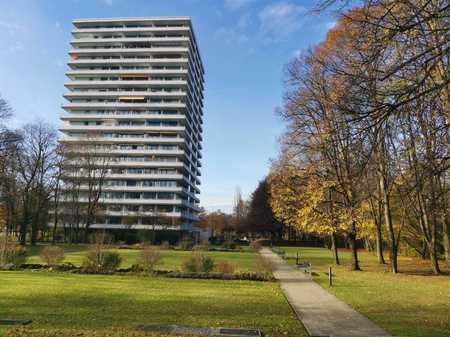 Möblierte, sonnige 2-Zimmer-Wohnung mit Panoramablick im Cosimapark in Bogenhausen (München)