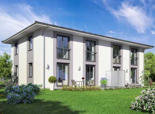 Grundstück für Doppelhaushälfte Stadtvilla