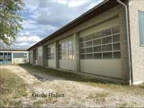 Büroflächen und beheizte HALLE 300