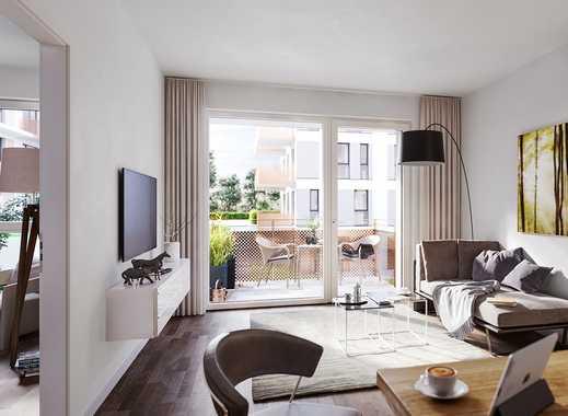 PANDION VILLE - Kompakte 2-Zimmer-Wohnung mit großzügigem Balkon in grüner Lage