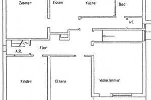 4 Zimmer Wohnung in Lichtenfels (Kreis)