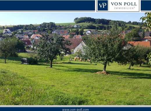 Bauen ohne Zwang! Herrliches Hanggrundstück in idyllischer Lage nahe Donauwörth