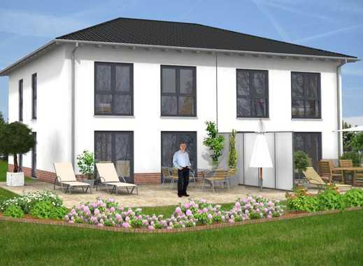 Doppelhaushälfte - individuell und in massiver Bauweise