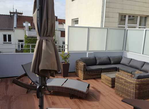 Schöne geräumige Dachterrassenwohnung mitten am Delmemarkt-Neustadt