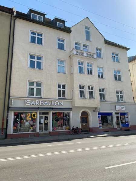 Total neu ausgebaute 3-Zimmer-Wohnung + Wohnküche in saniertem Altbau, hohe Decken in Ludwigsvorstadt-Isarvorstadt (München)