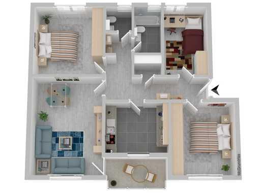Große 4-Zimmer Wohnung in Bad Fallingbostel im 2. OG