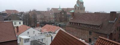 Wohnen über den Dächern von Minden. 2 ZKB Singlewohnung!