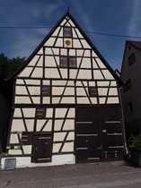 Denkmalgeschützte Scheune oder Haus in