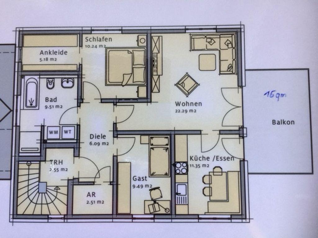3 Zimmer Küche Bad Essen | Schone 3 Zimmer Wohnung In Bayreuth Sud