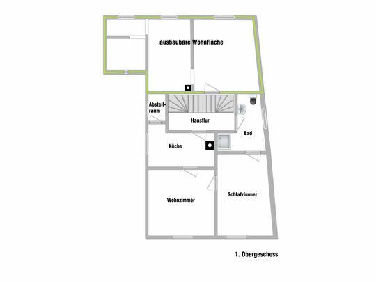Grundriss 1. Obergeschoss a